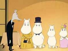 Moomins on the Riviera: