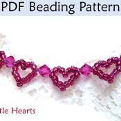 Little Hearts PDF Beading Pattern