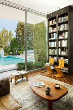Books by the pool