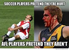 Soccer Players Pretend They're Hurt…
