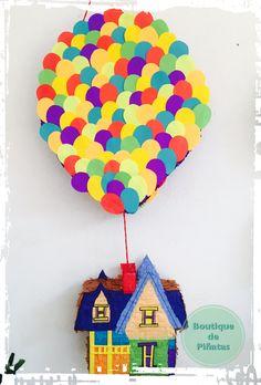 """Piñata • Up """"Una Aventura de altura""""  • envíos a todo México $580 • 2-3 elaboración y 5-7 días hábiles de envío."""