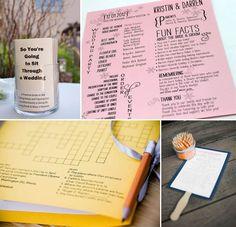 Programmi per cerimonia: sei idee