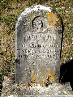Grafted Together - Dillman and Wright: Tombstone Tuesday - Benjamin Harrison #genealogy