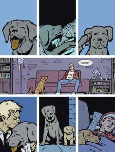 Clint and Lucky, aka Pizzadog