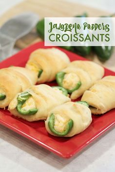 Jalapeno Poppers Croissants Bites Recipe