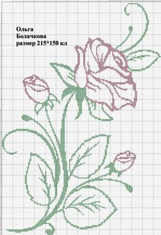 Mini Cross Stitch, Cross Stitch Rose, Cross Stitch Flowers, Doily Patterns, Embroidery Patterns, Cross Stitch Patterns, Cross Stitching, Cross Stitch Embroidery, Hand Embroidery