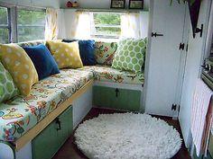 1973 Vintage Lark Camper, Travel Trailer, Glamper, No Reserve Glamping, Airstream Camping, Rv, Vintage Caravans, Vintage Campers, Shasta Camper, Caravan Renovation, Van Interior, Trailer Remodel
