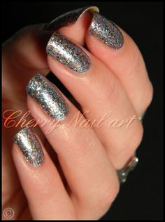 Shimmer Polish Jennifer  Cherry Nail Art
