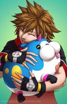 Sora - Kingdom Hearts Dream Drop Distance