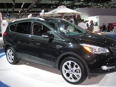 2013 Ford Escape in Black - Titanium package. Love this car to pieces