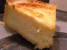 tarte au fromage blanc avec poudre à pudding
