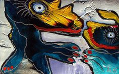 Original-LABEDZKI-original-abstract-figurative-outsider-art-MUTUAL-ATTRACTION