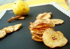 Škoricovo-hruškové chipsy - Recept