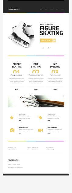Cheap price minimal website development service in karnataka Sports Website, Ecommerce Website Design, Letterhead Design, Cool Themes, Web Development Company, Web Design Company, Web Layout, Web Design Inspiration, Website Template