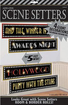 Hollywood-Party-Decorations-Scene-Setters-Movies-Film-Oscars-Hollywood-SIGNS