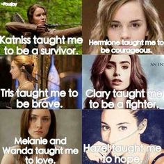 Some very important life lessons from my favorite heroines