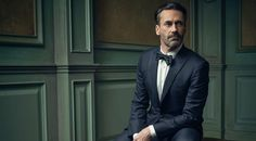 So for the third year in a row, Vanity Fair has teamed up with renowned photographer Mark Seliger to create striking, classy and funny Instagram portraits of the celebrities who attend the magazine's renowned post-Oscars fête.   Dapper Don Draper! Jon Hamm poses for @markseliger in the #VFOscarParty portrait studio.