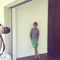 Awesome cool, summer look for Karan Brar that he wore for his photo shoot with LVLten Magazine on Tuesday (April in California after being on Karan Brar, Disney Channel Stars, April 14, Summer Looks, Photo Shoot, Modeling, Boyfriend, Dresses For Work, Celebs
