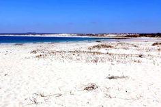 White sand beach, Lambert's Bay