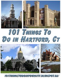 101 Things to Do...: 101 Things to do in Hartford, Connecticut