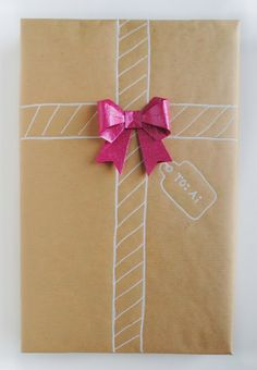 Part II: Christmas Gift Wrap with Origami Details - zakka life