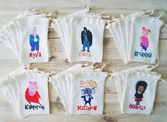 Sing Movie Favor Bags Sing Party Favors Personalized Party