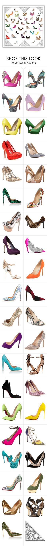 """Shoes Hot."" by gbgerafin on Polyvore featuring Belleza, Badgley Mischka, Christian Louboutin, Ivanka Trump, Michael Antonio, Nine West, Dolce&Gabbana, Valentino, Jimmy Choo y gx by Gwen Stefani"