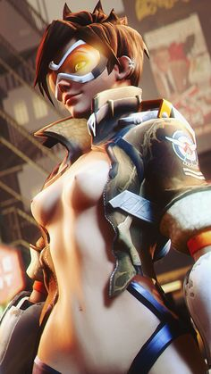 Tracer,Overwatch,Blizzard,Blizzard Entertainment,фэндомы,Overwatch Ero,AngryRabbitGmoD