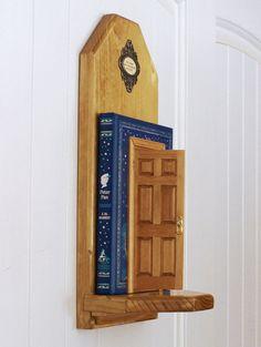 Fairy Door in Peter Pan Book for Nursery or by ArteOfTheBooke