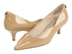 Nine West: Andriana - pointy toe pump - 2 3/4 inch heel in taupe