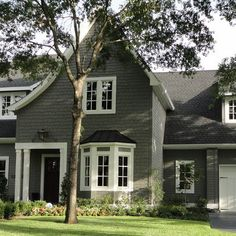 167 Benjamin Moore. Amherst gray. Paint color