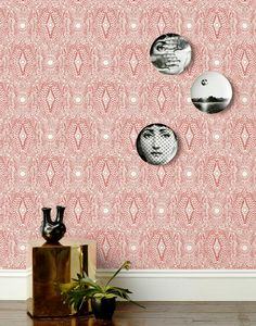Wallpaper Hygge & West | Diamante (Red)