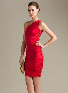 Side Shirred Day Dress