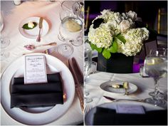Black and White Elegant New Jersey Wedding by Christopher Duggan Photpography » KnotsVilla