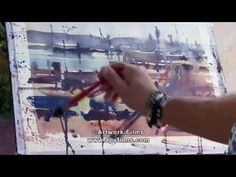 The Passionate Painter in Havana Part 1 with Alvaro Castagnet Watercolor Video, Watercolour Tutorials, Watercolor Artists, Watercolor Techniques, Watercolour Painting, The Beautiful South, Painting Videos, Havana, Art Tutorials