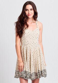 Timeless Romance Floral Dress