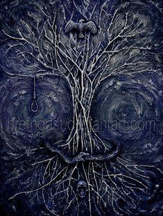 Yggdrasil by *Hrefngast on deviantART