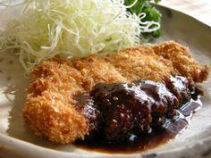 Tonkatsu (pork cutlet )とんかつ