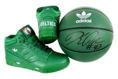 The Boston Celtics Adidas Collaboration Sneakers #st.pattysday