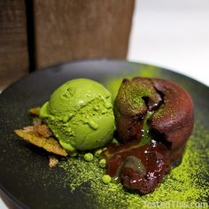 Chocolate Green Tea Lava - http://www.tastedthis.com/2013/03/06/chocolate-green-tea-lava/