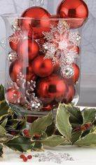 christmas ornament centerpiece ideas - Google Search