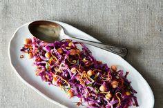 Vegetarian Cabbage, Vegetarian Recipes, Cooking Recipes, Healthy Recipes, Chickpea Recipes, Food52 Recipes, Healthy Salads, Easy Salads, Healthy Food
