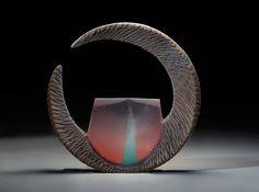Alex Bernstein Copper Window, 2015 Cast & cut glass, fused steel Available