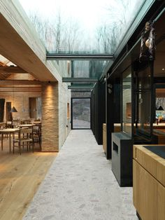 Noma The 'New Nordic' Authority Reopened and Redesigned - Remodelista Scandinavian Restaurant, Scandinavian Home, Noma Restaurant, Restaurant Design, Restaurant Ideas, Restaurant Pictures, Drummond House Plans, Staff Room, Colorful Interior Design