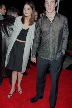 Katie Holmes and Chris Klein - ages 21 and in Hot Couples, Celebrity Couples, Celebrity Photos, Celebrity Style, Chris Klein, Joey Potter, Brooke Shields, Katie Holmes, Celebs