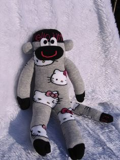 Hello Kitty Sock Monkey