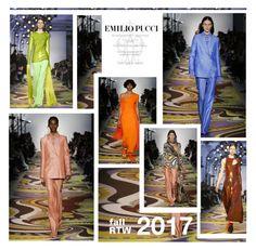 """""""FallRTW 2017"""" by fl4u ❤ liked on Polyvore featuring Emilio Pucci, emiliopucci, mfw, fall2017, fashionWeek2017 and readytowear2017"""