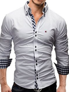 ecd7fc8dd1183 9 Best Men's cotton with contrast inset images in 2016 | Dress ...