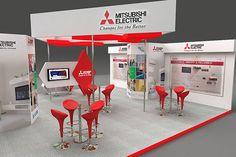 Mitsubishi booth