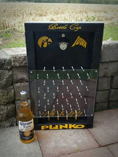 Diy drinko plinko pinterest bar woodworking and woodworking plans bottle cap plinko drinko plinko beer game by neanscustomgifts solutioingenieria Choice Image